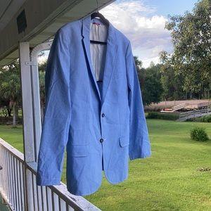 Izod Suits & Blazers - Izod Gingham Sports Coat 🧥 Large NICE! 💎